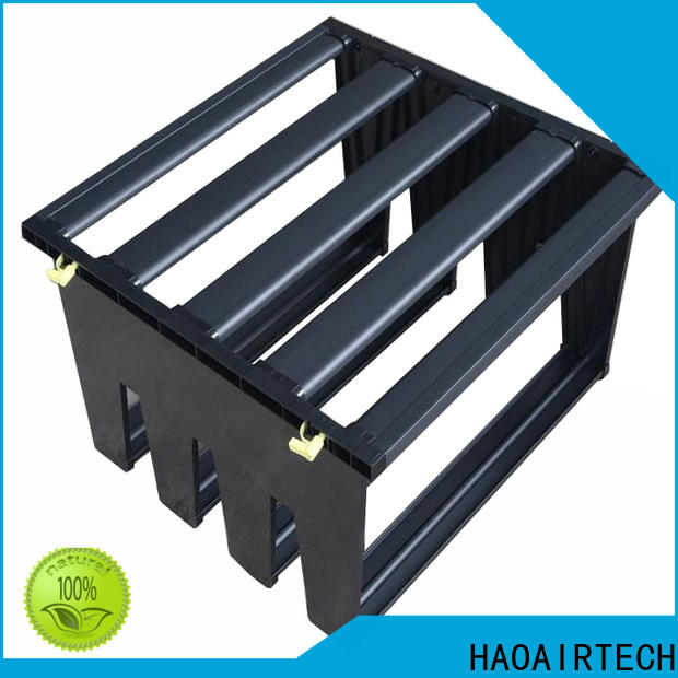 HAOAIRTECH Air filter frame supplier for the v type hepa air filter