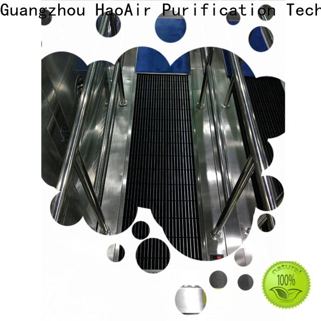 HAOAIRTECH professional shoe sole cleaner machine maker for high purification rank