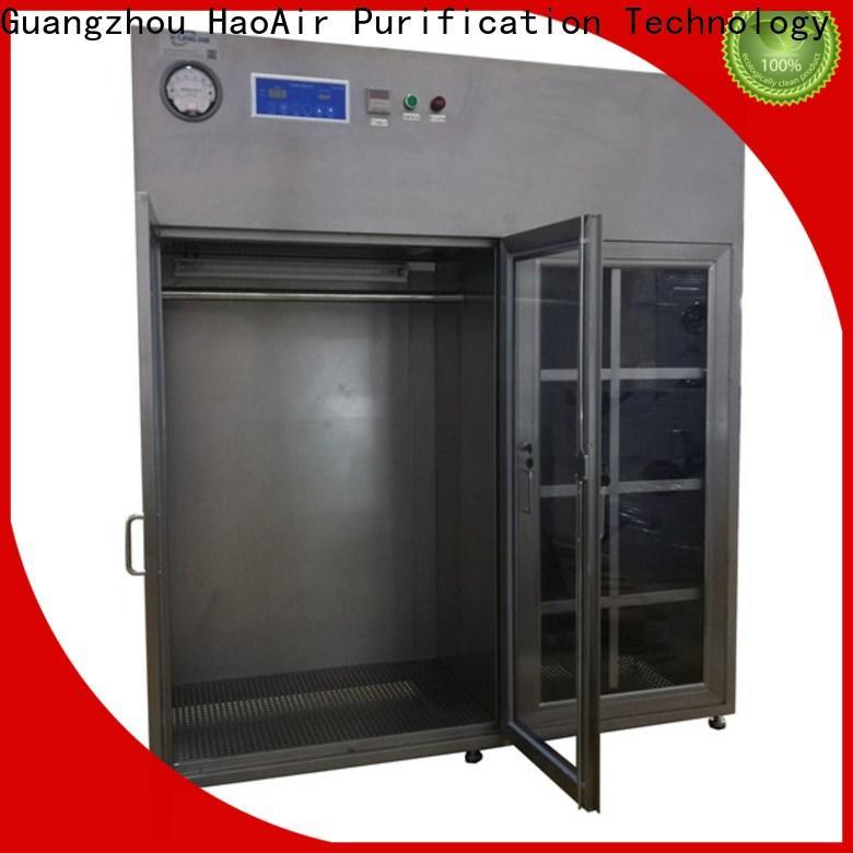 HAOAIRTECH vertical laminar dust free cabinet manufacturer online