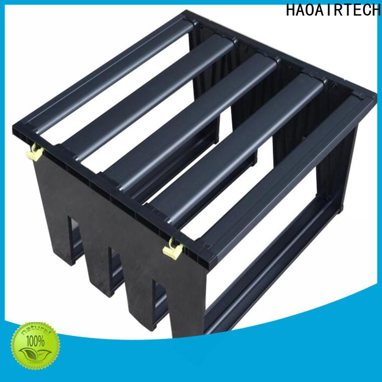 professional Air filter media manufacturer for secondary v bank air filter