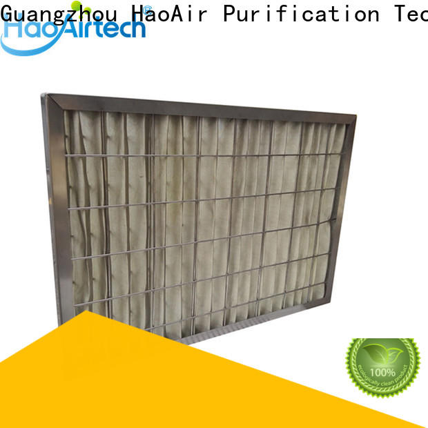 HAOAIRTECH professional hepa air filters for home supplier for filtration pharmaceutical factory