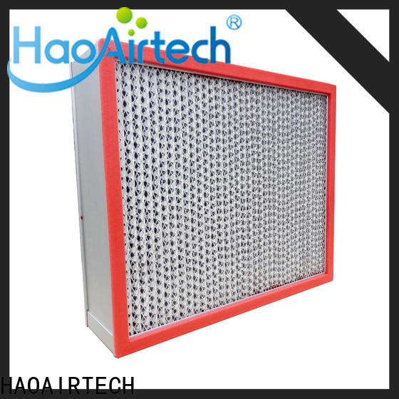 professional high temperature air filter with large air volume for spraying plant
