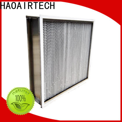HAOAIRTECH hepa air filters for home with alu frame for prefiltration