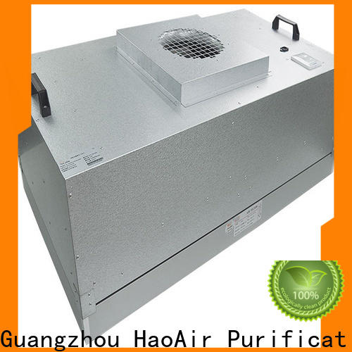HAOAIRTECH hepa filter module units for cleanroom ceiling