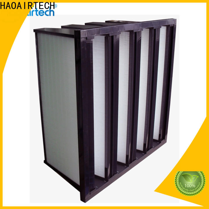 professional hvac air filters with gl interlocker frame for healthcare