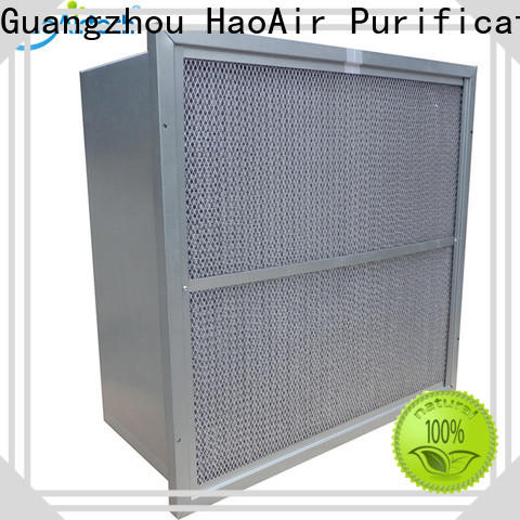 v cell hvac air filters with abs frame for industry