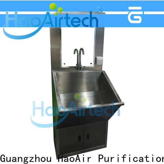 HAOAIRTECH hand washing sink manufacturer for hospital operating room