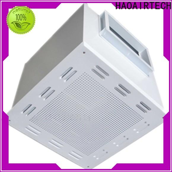 HAOAIRTECH hepa filter module with central air conditioning for for non uniform clean rooms