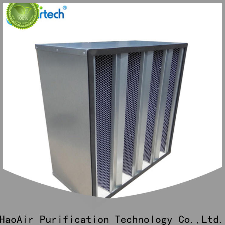 HAOAIRTECH active carbon air filter wholesale for chemical filtration
