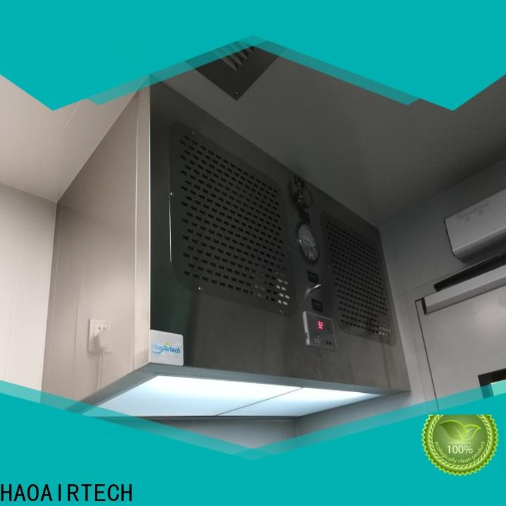 HAOAIRTECH workstation bench hood for biology horizontal