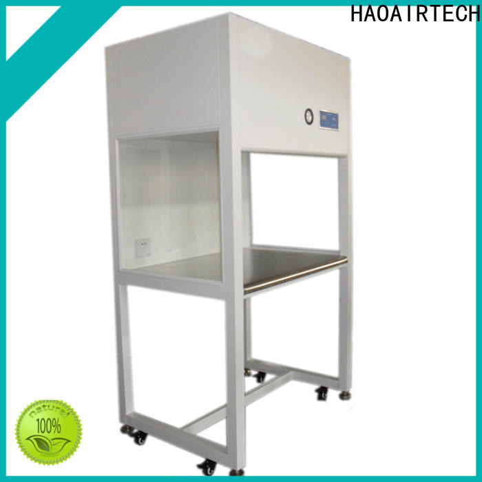 stainless steel laminar flow hood with hepa filtred for clean room