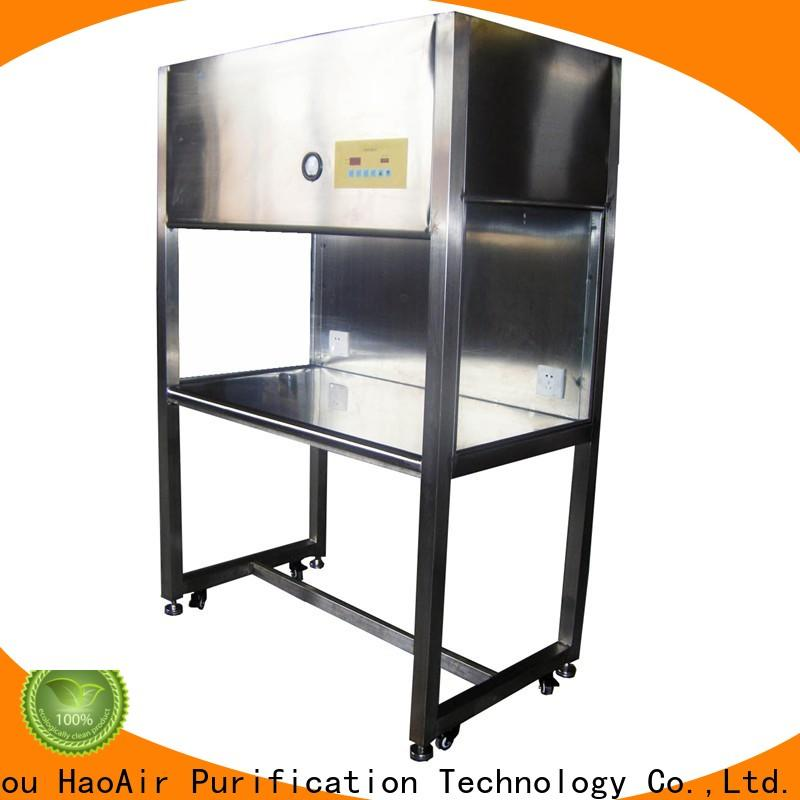 HAOAIRTECH laminar flow clean bench with vertical air flow for clean room