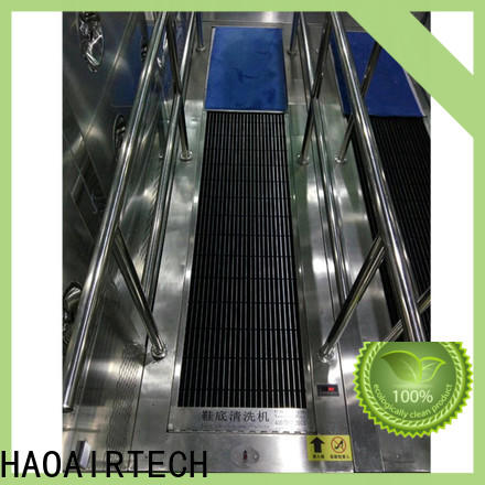 HAOAIRTECH industry shoe sole cleaner machine maker for high purification rank