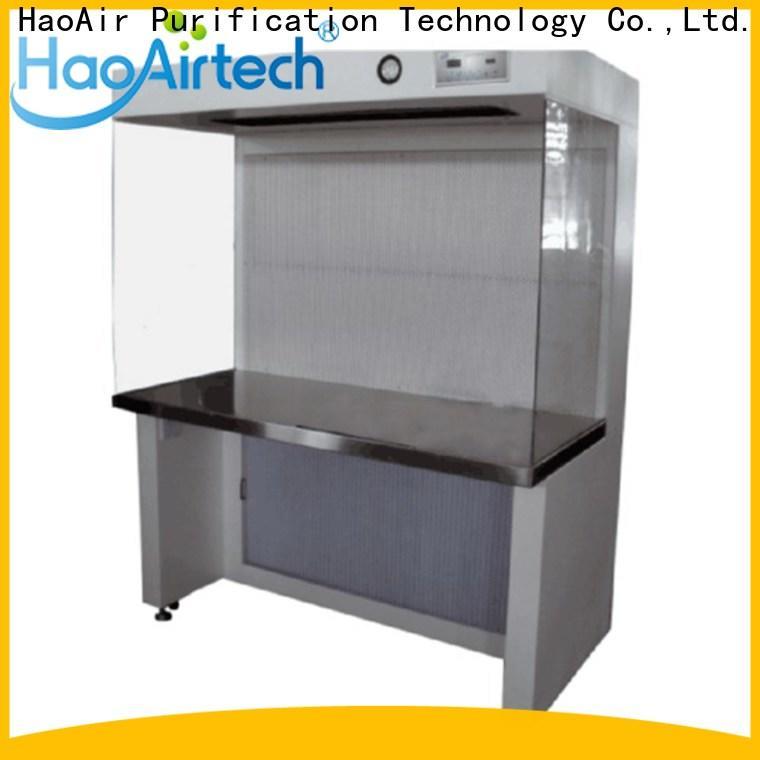 HAOAIRTECH professional horizontal flow hood hood for clean room
