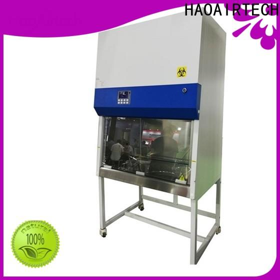 HAOAIRTECH stainless steel vertical laminar flow cabinet with hepa filtred for optoelectronic industry