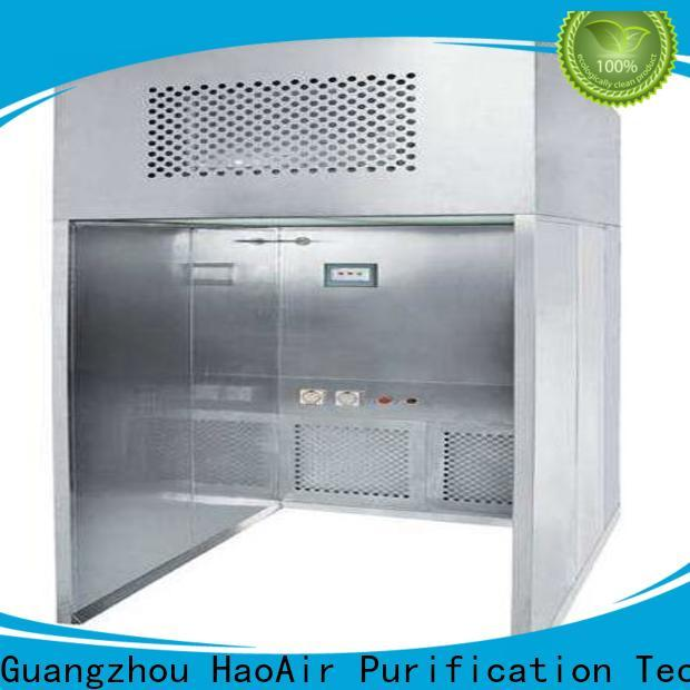 stainless steel downflow booth gmp modular design for biological pharmacy