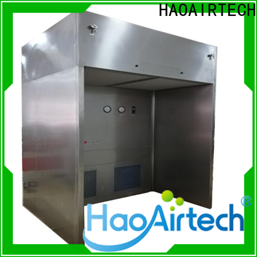 HAOAIRTECH negative pressure sampling booth supplier for dust pollution control
