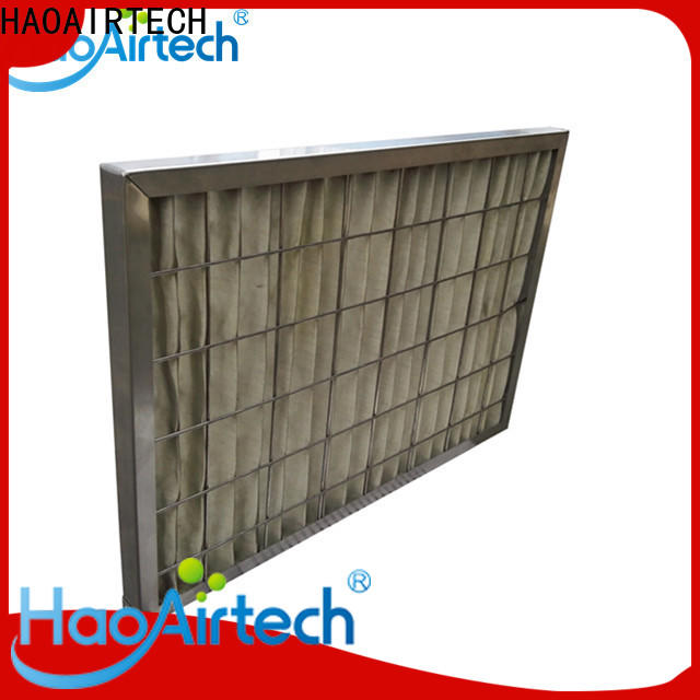 HAOAIRTECH high temperature filter with alu frame for spraying plant