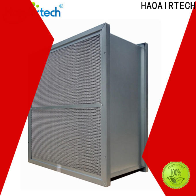 HAOAIRTECH high temperature air filter with alu frame for spraying plant