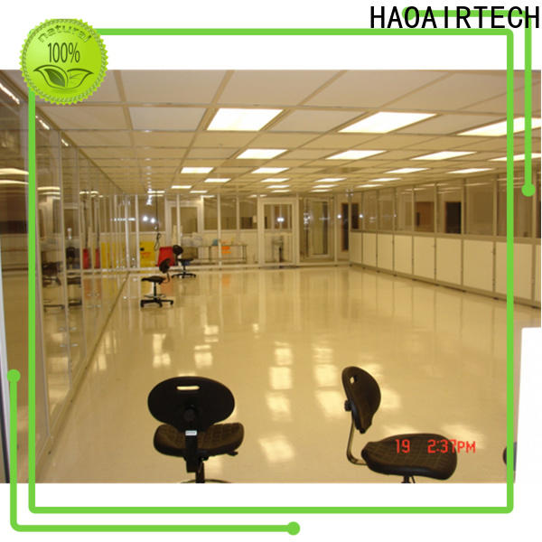 HAOAIRTECH modular clean room manufacturers enclosures online