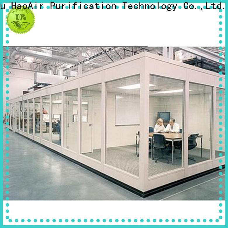 high efficiency modular cleanroom with ffu for semiconductor factory