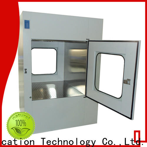 HAOAIRTECH electronic pass box clean room with conveyor line for hvac system