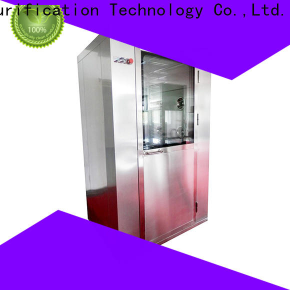 HAOAIRTECH air shower system with three side blowing for large scale semiconductor factory