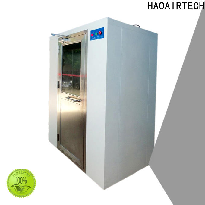 HAOAIRTECH air shower system with top side air flow for large scale semiconductor factory