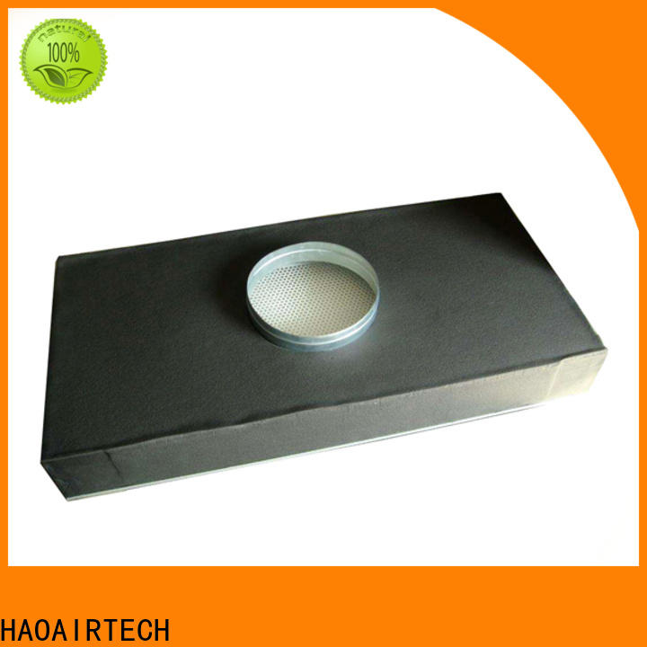 ulpa hepa filter h12 with al clapboard for electronic industry
