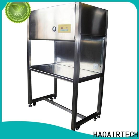 HAOAIRTECH professional flow hood for sale clean benches for optoelectronic industry