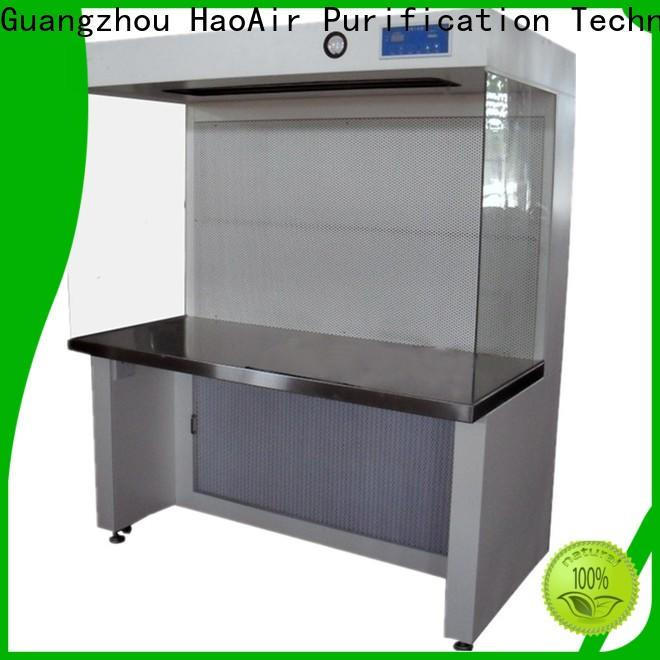 HAOAIRTECH professional workstation bench clean benches for biology horizontal