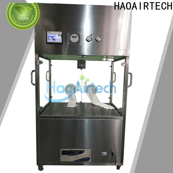 HAOAIRTECH vertical clean room carts with self contained battery for transporting products