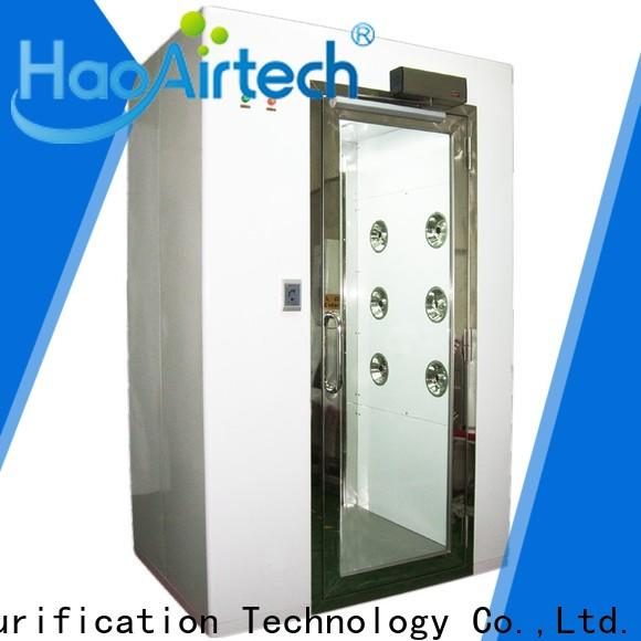 fast rolling clean room manufacturers with three side blowing for large scale semiconductor factory