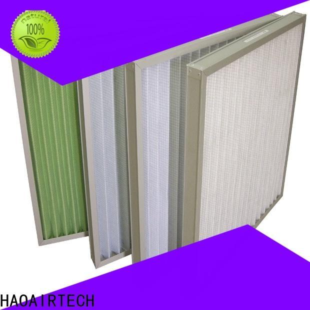 HAOAIRTECH air pleated air filters manufacturer for clean return air system
