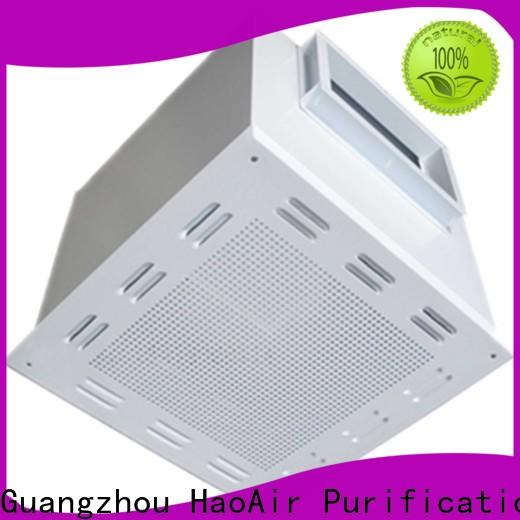 HAOAIRTECH hepa filter box units for for non uniform clean rooms