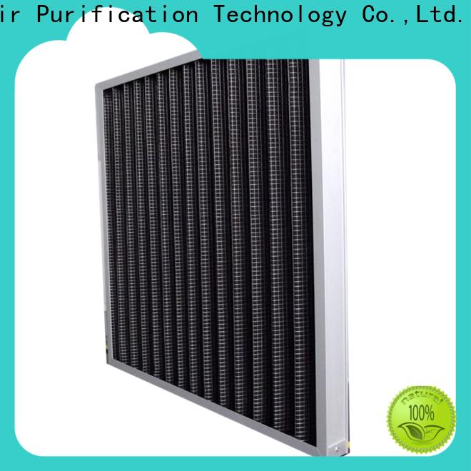 HAOAIRTECH Gas-Phase Air Filter with granular carbon for air odor