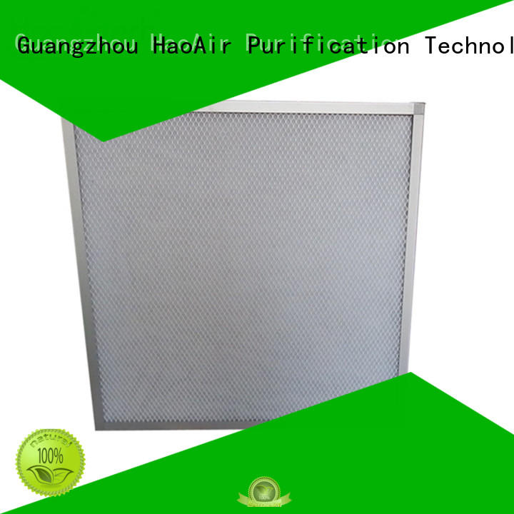 flat panel filter with mesh protection and fixed filter material online