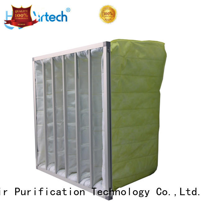 HAOAIRTECH fibre bag filter supplier for central air conditioning ventilation system