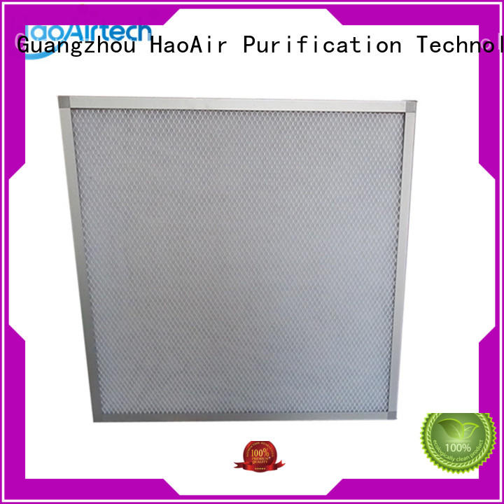 popular panel filter manufacturer for ventilation and air conditioning systems