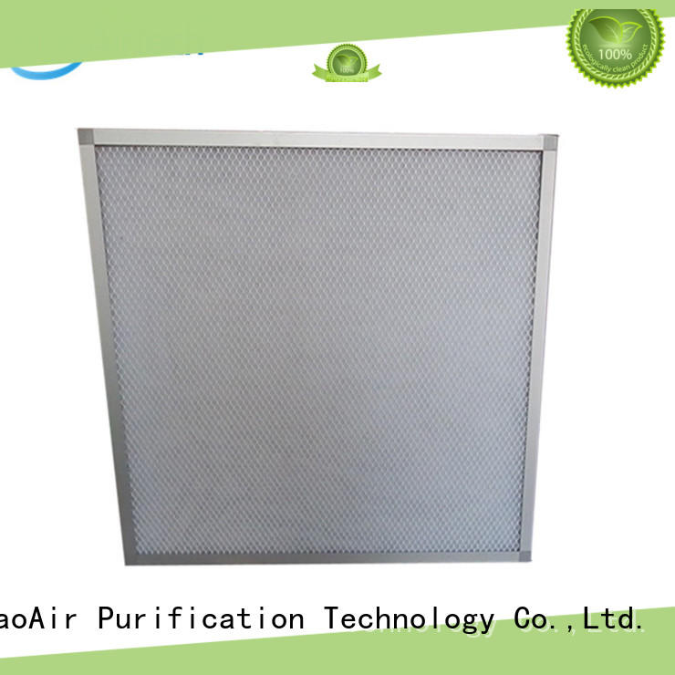 flat panel filter with aluminum frame online